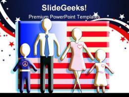American Family People PowerPoint Templates And PowerPoint Backgrounds 0211