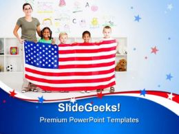 American Students Education PowerPoint Templates And PowerPoint Backgrounds 0611
