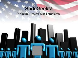 American Team Business PowerPoint Backgrounds And Templates 0111