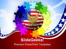 American Unity Global PowerPoint Templates And PowerPoint Backgrounds 0211