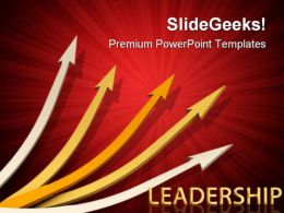Arrows01 Leadership PowerPoint Templates And PowerPoint Backgrounds 0411