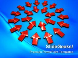 Arrows Background PowerPoint Templates And PowerPoint Backgrounds 0211