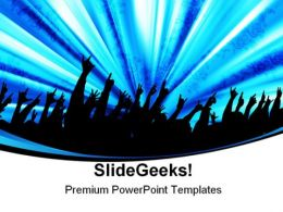 Audience Entertainment PowerPoint Templates And PowerPoint Backgrounds 0311