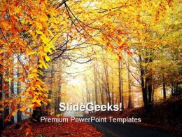 Autumn Season Nature PowerPoint Templates And PowerPoint Backgrounds 0311