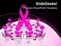 Awareness Meeting Medical PowerPoint Templates And PowerPoint Backgrounds 0411