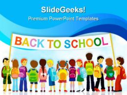 Back To School02 Education PowerPoint Template 1110