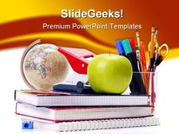 Back To School04 Education PowerPoint Template 1010