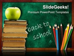 Back To School05 Education PowerPoint Template 0810