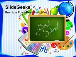 Back To School05 Education PowerPoint Template 1010