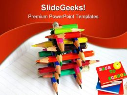 Back To School Education PowerPoint Template 0910
