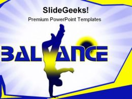 Balance People PowerPoint Templates And PowerPoint Backgrounds 0611