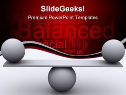 Balance Sports PowerPoint Template 0610