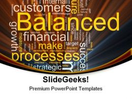 Balanced Business01 Finance PowerPoint Templates And PowerPoint Backgrounds 0711