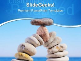 Balanced Stones Business PowerPoint Templates And PowerPoint Backgrounds 0611