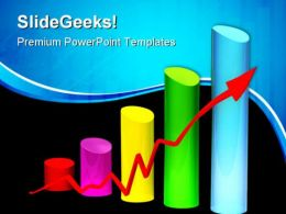 Bar Chart Business PowerPoint Templates And PowerPoint Backgrounds 0211