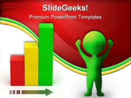 Bar Chart Growth Business PowerPoint Templates And PowerPoint Backgrounds 0311