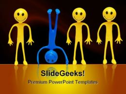 Bediffrent Business PowerPoint Templates And PowerPoint Backgrounds 0411