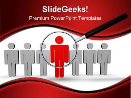 Best Employee Search People PowerPoint Background And Template 1210