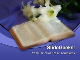 Bible01 Religion PowerPoint Template 0610