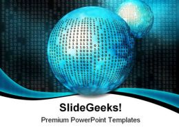 Binary Code Internet PowerPoint Templates And PowerPoint Backgrounds 0511