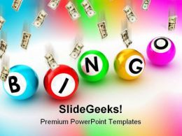 Bingo Sports PowerPoint Templates And PowerPoint Backgrounds 0211