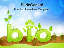 Bio Green Environment PowerPoint Templates And PowerPoint Backgrounds 0511