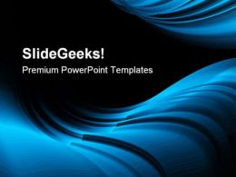Blue Abstract Background PowerPoint Templates And PowerPoint Backgrounds 0411  Presentation Themes and Graphics Slide01