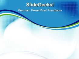 Blue Abstract PowerPoint Templates And PowerPoint Backgrounds 0411