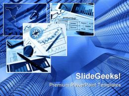 Blue Business Collage Business PowerPoint Templates And PowerPoint Backgrounds 0211