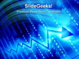 Blue Data Abstract PowerPoint Templates And PowerPoint Backgrounds 0311