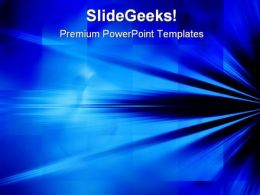 Blue Rays Of Light Background PowerPoint Templates And PowerPoint Backgrounds 0511