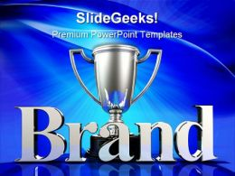 Brand Champion Business PowerPoint Templates And PowerPoint Backgrounds 0211
