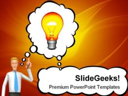 Bright Idea Future PowerPoint Templates And PowerPoint Backgrounds 0211