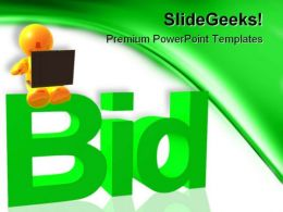 Browse And Bidding Internet PowerPoint Templates And PowerPoint Backgrounds 0211