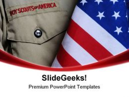 Bsa Uniform Americana PowerPoint Templates And PowerPoint Backgrounds 0111