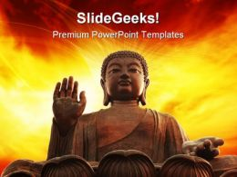 Buddha Religion PowerPoint Templates And PowerPoint Backgrounds 0111