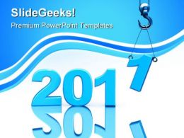 Building New Year Business PowerPoint Templates And PowerPoint Backgrounds 0311