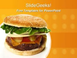 Burgur 0510 Free Powerpoint Templates and Ppt Slides