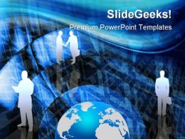 Business Abstract Global PowerPoint Templates And PowerPoint Backgrounds 0211