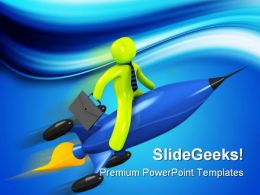 Business Accelerator Travel PowerPoint Templates And PowerPoint Backgrounds 0311