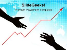 Business Assistance Success PowerPoint Templates And PowerPoint Backgrounds 0511