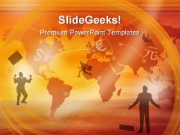 Business Background Global PowerPoint Templates And PowerPoint Backgrounds 0611