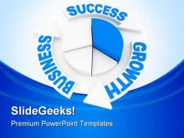 Business Chart Concept Success PowerPoint Templates And PowerPoint Backgrounds 0511