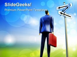 Business Choice Future PowerPoint Templates And PowerPoint Backgrounds 0211