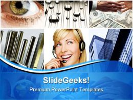 Business Collage Handshake PowerPoint Templates And PowerPoint Backgrounds 0411