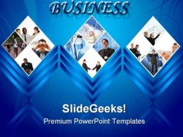 Business Collage Success PowerPoint Templates And PowerPoint Backgrounds 0311