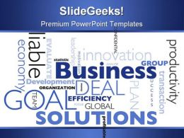 Business Concept Global PowerPoint Background And Template 1210