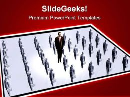 Business Concept Leadership PowerPoint Templates And PowerPoint Backgrounds 0511