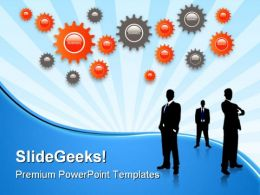 Business Concept Metaphor PowerPoint Templates And PowerPoint Backgrounds 0611