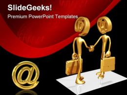Business E Mail Internet Handshake PowerPoint Templates And PowerPoint Backgrounds 0511